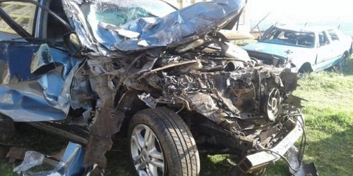 David Rudisha Car Crash