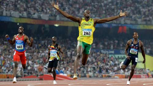Today in History: Usain Bolt Breaks 100m World Record twice