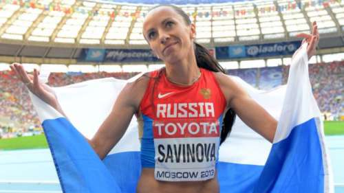 Mid Distance runner Mariya Savinova who was on of many involved in doping corruption