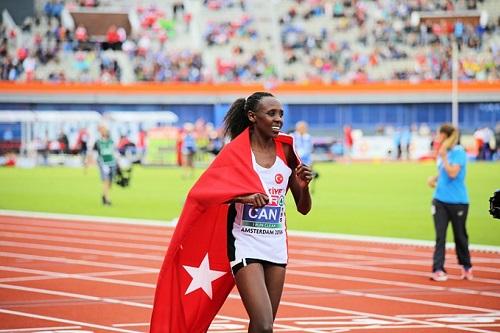 Kenyan-Born Turkish runner claims European Women's 10,000m crown | Watch  Athletics