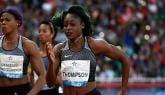 Thompson Wins 100m in Rabat Diamond League