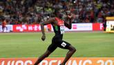 David Rudisha Out of World Athletics Championships
