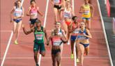 Kipyegon takes women's 1500m title; while McLeod beats Shubenkov for 110m hurdles gold