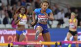 Kori Carter takes women's 400m hurdles global title