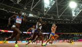Dafne Schippers successfully defends 200m world championships gold