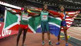 Caster Semenya wins third world championships 800m gold