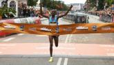 Cheroben clocks half marathon world lead of 58:40