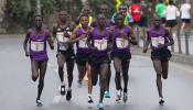 Results: Prague Half Marathon 2018 - Winners Bernard Kimeli 59:47 and Joan Melly 65:05