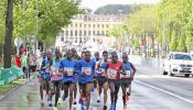 Dino Sefir challenges world record holder Dennis Kimetto in Vienna