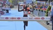 Bounasser surprise champion while Kiprop defends title in the heat of Vienna