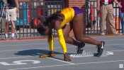 LSU Women's 4x100 sets new NCAA record with 42.05