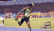 18/Y/O Christopher Taylor Dominates 200m in Kingston