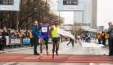 Two significant half marathon time barriers are targeted at Sunday's Berlin Half Marathon